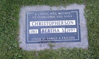 Bertha S Christopherson