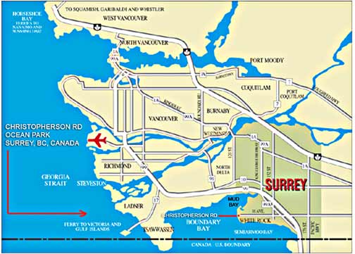 Google Maps Directions Surrey Bc Canada CitiesTipscom