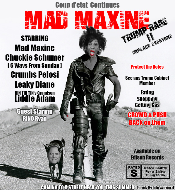 Mad Maxine and Liddle Adam Sh*t